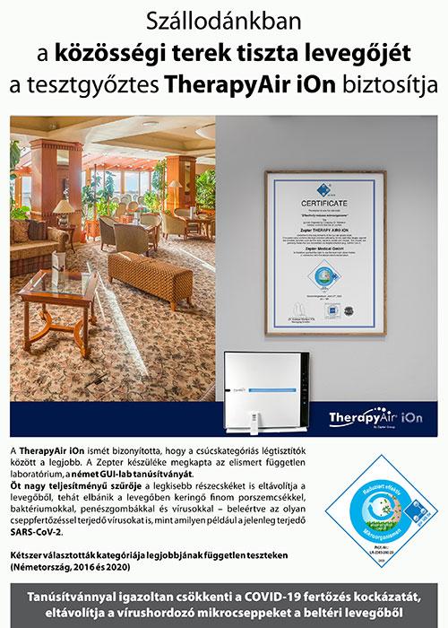 Hotel Silvanus Visegrád - Légtisztítással a maximális biztonságért
