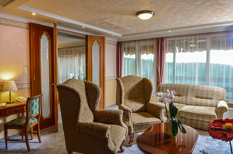 Superior danube suite living room