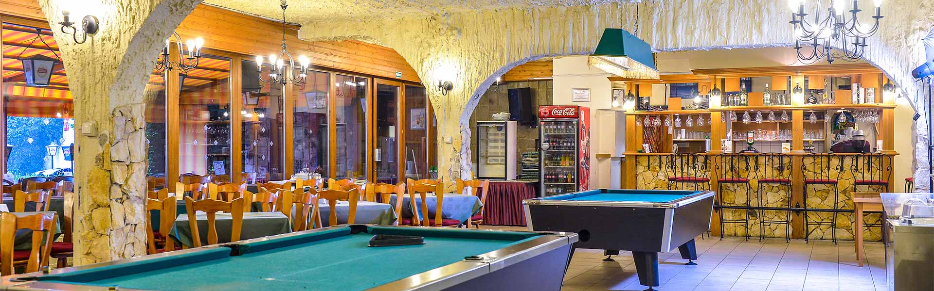 Night entertainment possibilities :: Hotel Silvanus Visegrád -