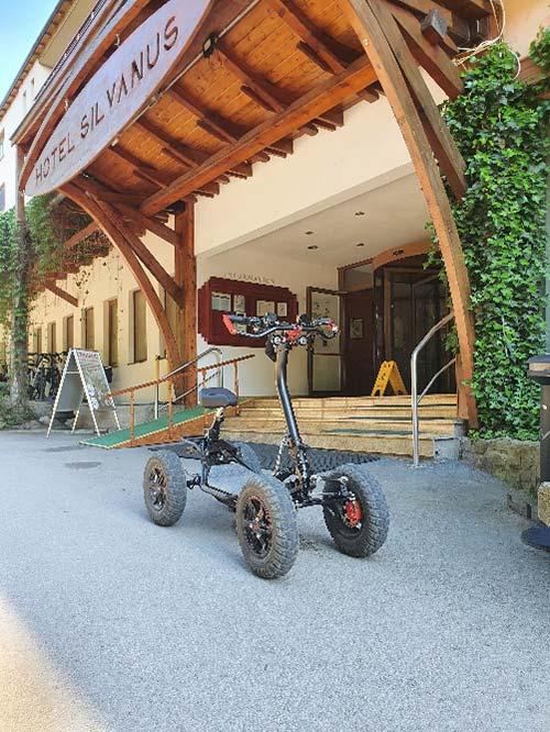 Hotel Silvanus Visegrád - EZ Raider: a túrázás jövője